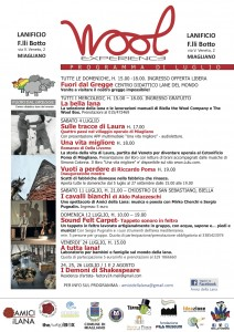 Wool Experience luglio